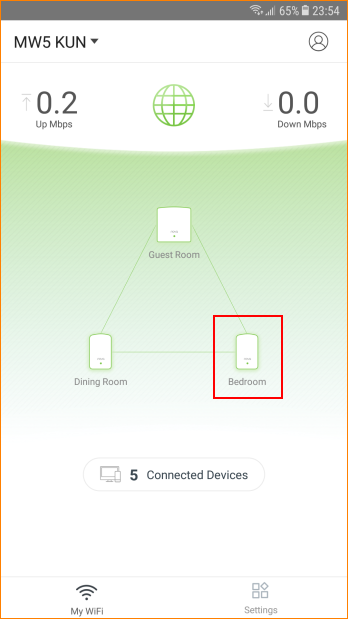 how to get a wired connection from wireless