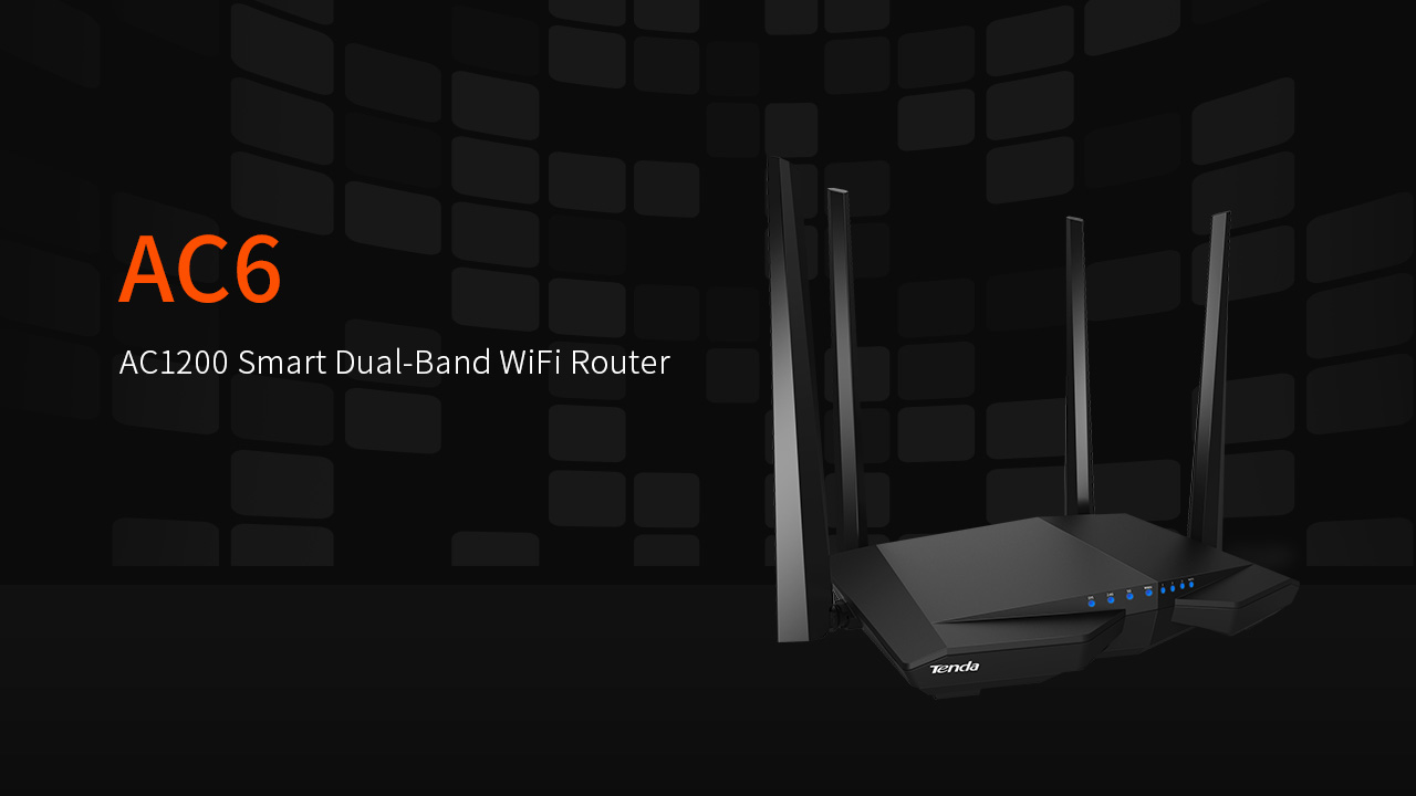 Ac6 V20 Product Presentation Tenda India Wireless Router Click To Download